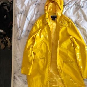 Bright Yellow Raincoat ♡